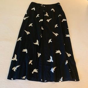 philosophy Bird Skirt